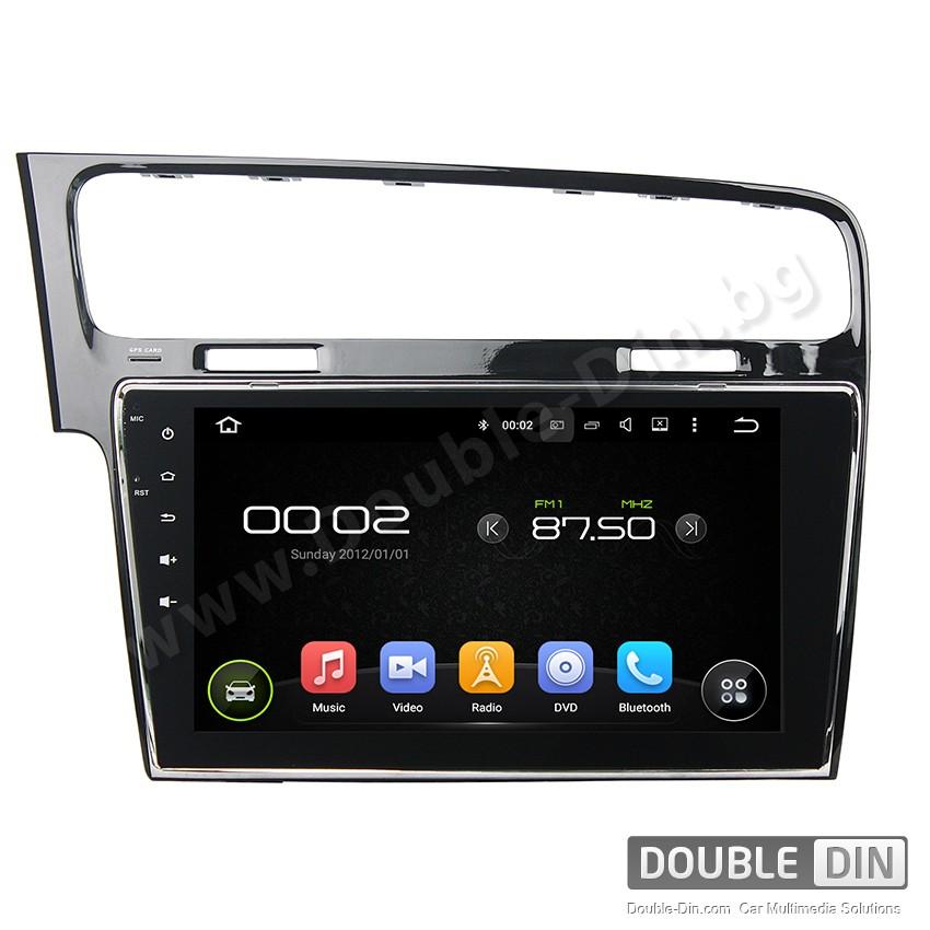 Навигация / Мултимедия с Android 8.0 или 8.1 за  VW Golf 7  - DD-1017