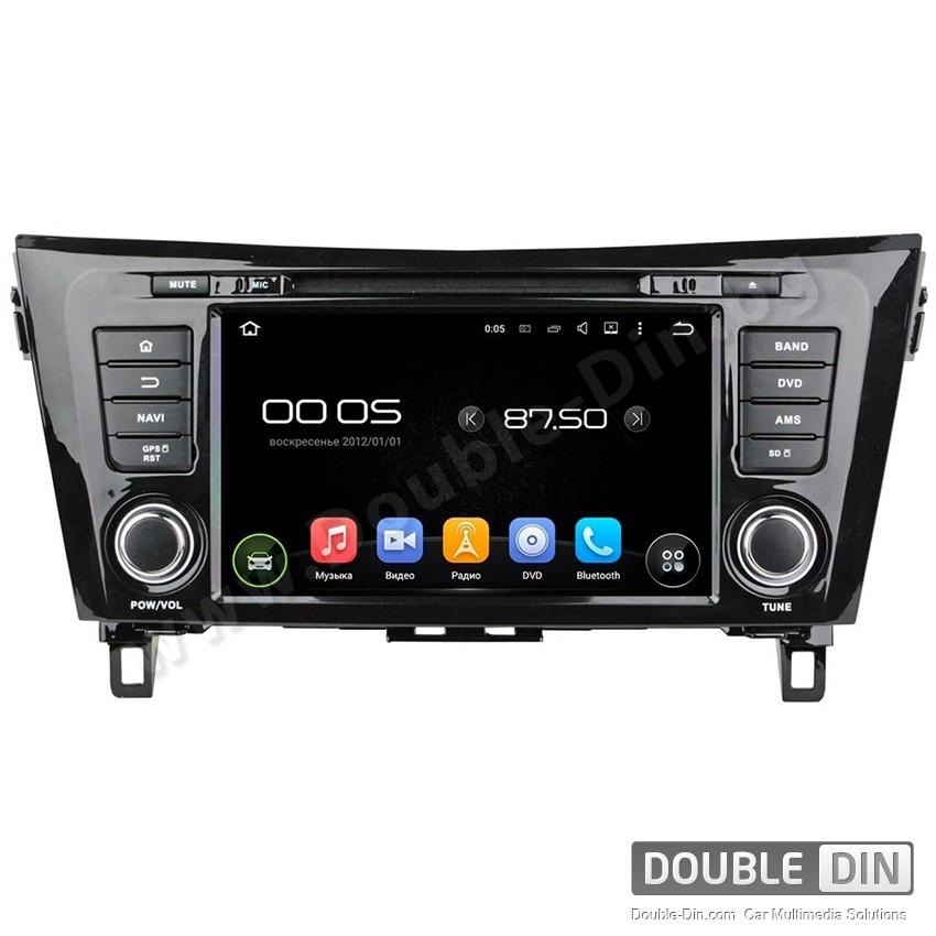 Навигация / Мултимедия с Android 8.0 или 7.1 за Nissan Qashqai  - DD-8052