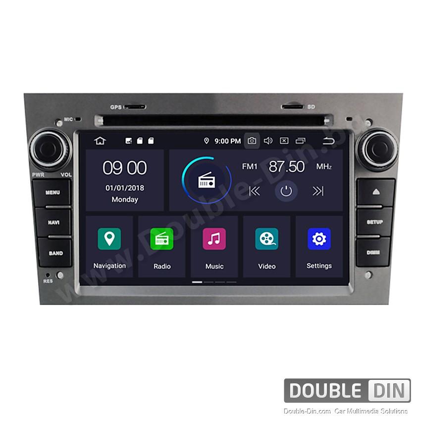 Навигация / Мултимедия с Android 9.0 за Opel Astra, Vectra, Zafira и други  - DD-5312