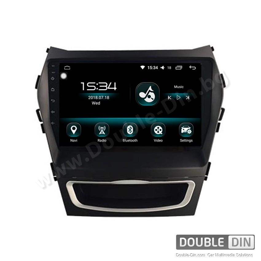 Навигация / Мултимедия с Android 9.0 Pie за Hyundai IX45, Santa Fe  - DD-2166