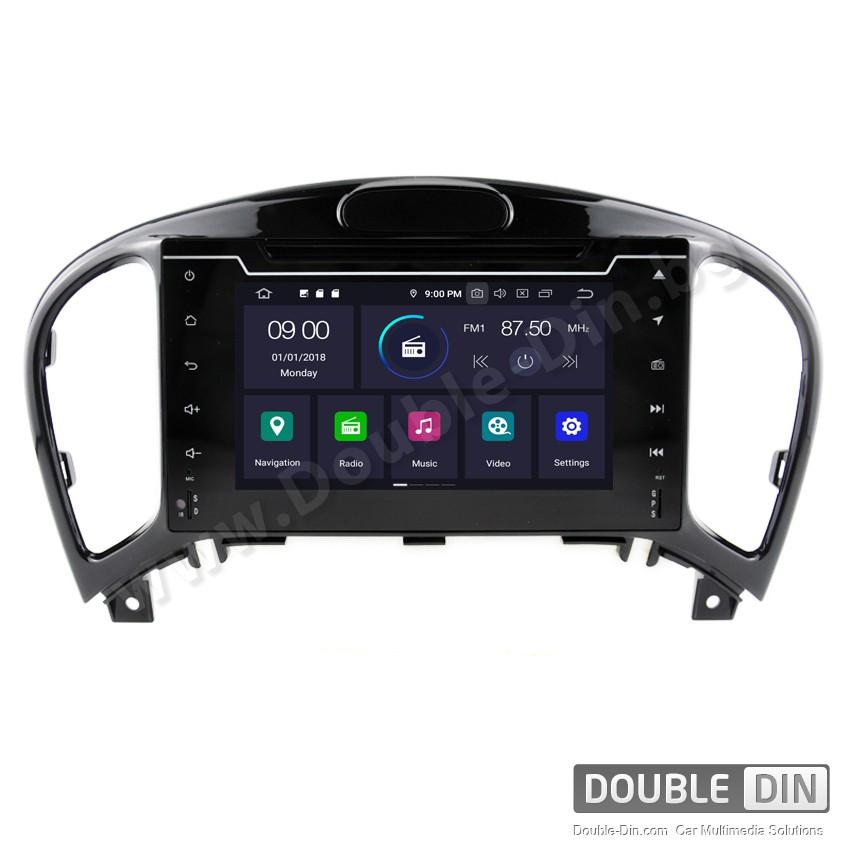Навигация / Мултимедия с Android 9.0 Pie за Nissan Juke - DD-5363