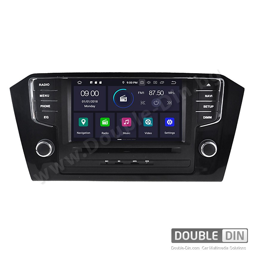 Навигация / Мултимедия с Android 9.0 Pie за VW Passat B8 - DD-5579