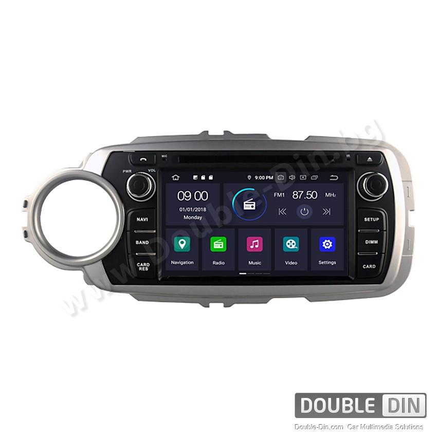 Навигация / Мултимедия с Android 9.0 Pie за Toyota Yaris  - DD-5748