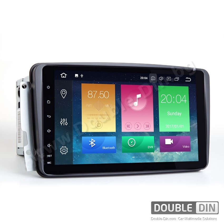 Навигация / Мултимедия с Android 9.0 Pie за Mercedes C-class W203, CLK C209/W209 и други - DD-2191