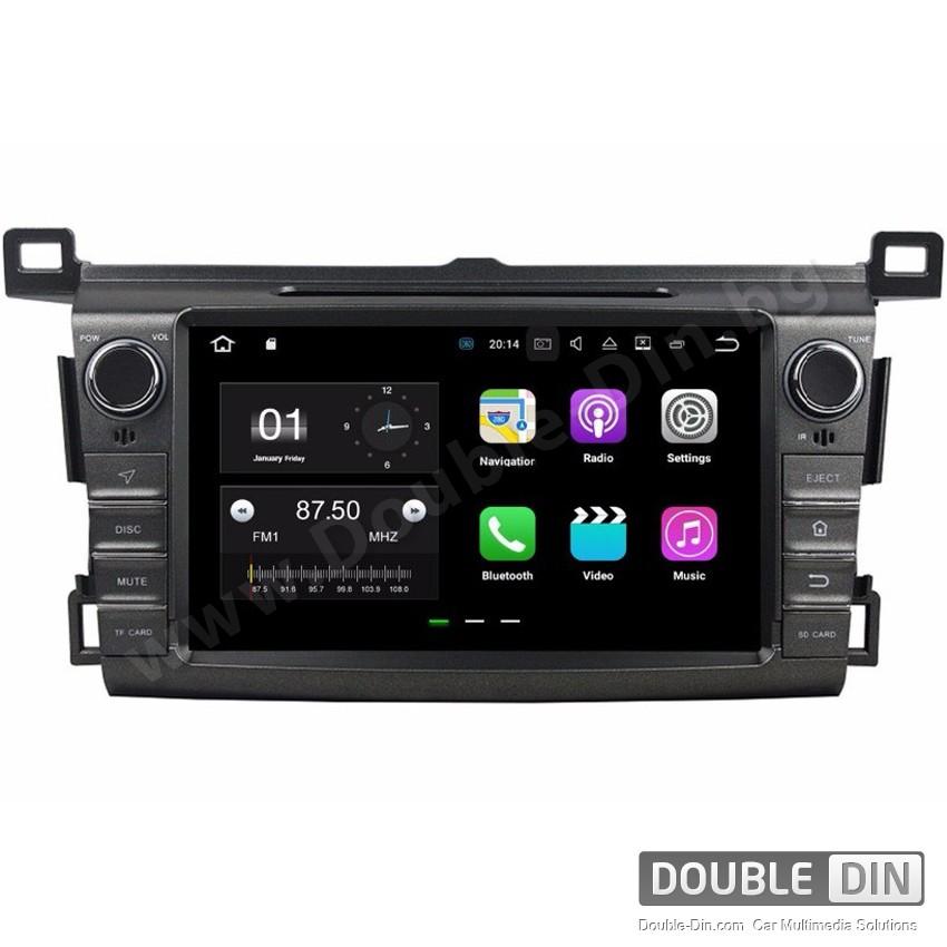 Навигация / Мултимедия с Android 9.0 Pie за Toyota RAV4  - DD-8017