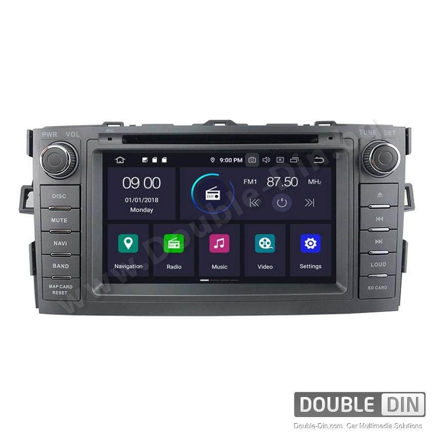 Навигация / Мултимедия с Android 10 за Toyota Auris - DD-7666