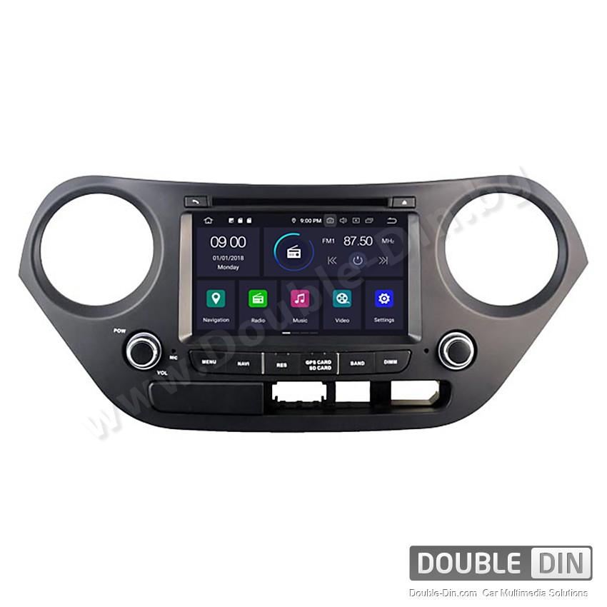 Навигация / Мултимедия с Android 9.0 Pie за Hyundai I10  - DD-5314