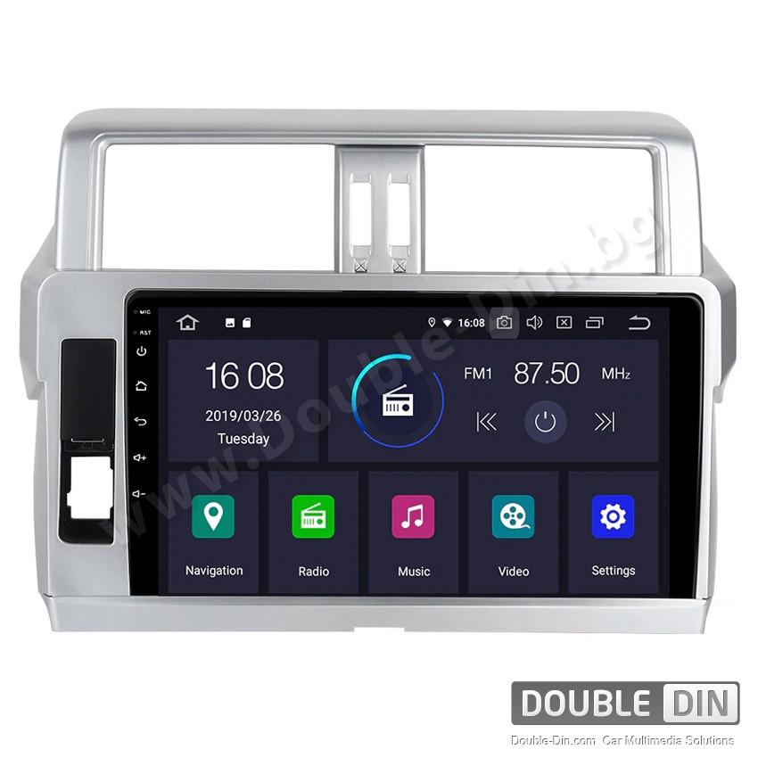 Навигация / Мултимедия с Android 9.0 Pie за Toyota Land Cruiser Prado 150 2014 2015 - DD-2127