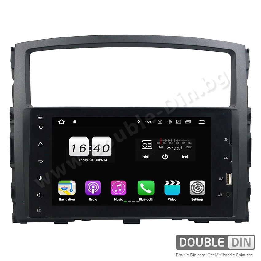 Навигация / Мултимедия с Android 10 за Mitsubishi Pajero - DD-8238