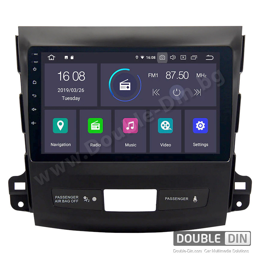 Навигация / Мултимедия с Android 9.0 Pie за Citroen C-Crosser - DD-5261