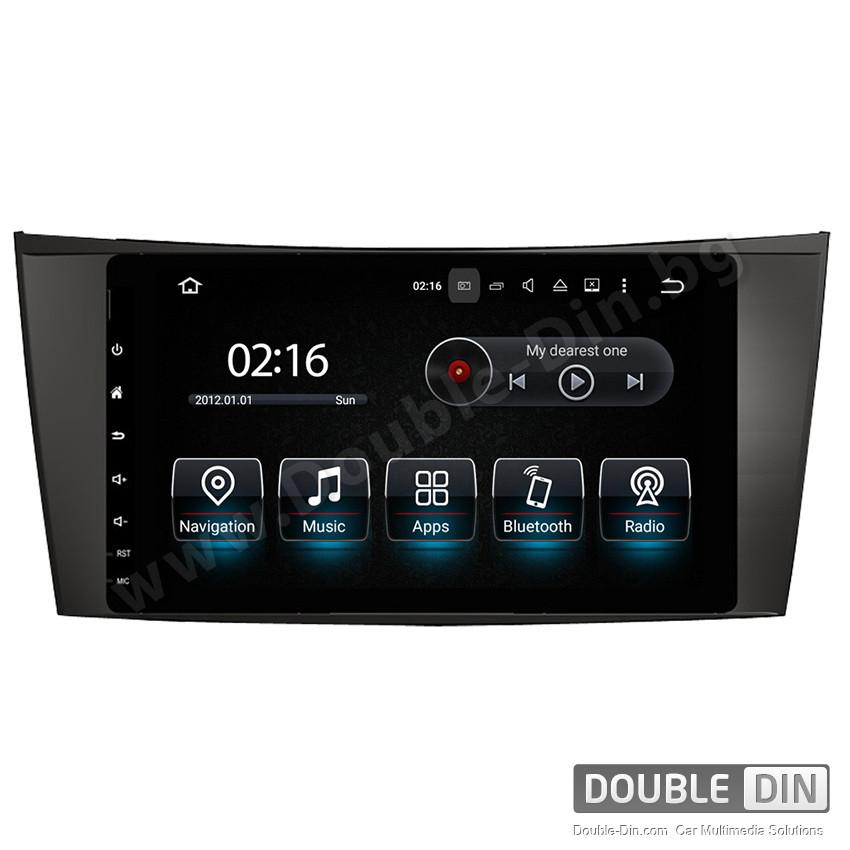 Навигация / Мултимедия с Android 10 за Mercedes E-class W211, CLS W219 - DD-8097