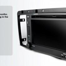 OEM Multimedia Double Din / Двоен дин DVD GPS TV за Volvo S60 / V70 2005-2009