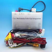 Audi MMI 3G Мултимедия Видео Интерфейс