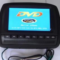 "Подглавник с LCD-TFT Монитор, DVD, USB, SD, Игри 9"""