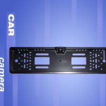Водоустойчива камера за задно виждане, вградена на стойка за номер, CCD