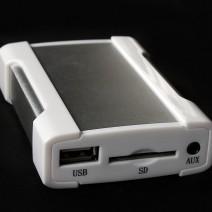 XCarLink Всичко в Едно USB, SD, AUX, iPod, iPhone MP3 Интерфейс за Peugeot