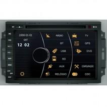 OEM Multimedia Double Din / Двоен дин DVD GPS TV за Jeep Grand Cherokee, Chrysler 300C
