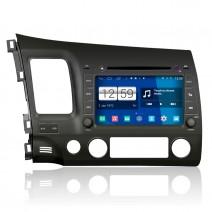 Навигация / Мултимедия с Android 9.0 Pie за Honda Civic - DD-M044