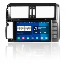 Навигация / Мултимедия с Android 9.0 Pie за Toyota Land Cruiser Prado 150- DD-M065