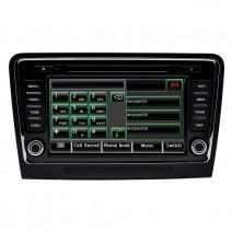 Double Din / Двоен дин DVD GPS TV за Skoda Superb