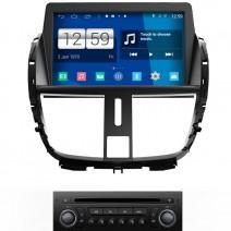 Навигация / Мултимедия с Android 9.0 Pie за Peugeot 207  - DD-M207