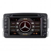 Навигация / Мултимедия с Android 10 за Mercedes C-class W203, CLK C209/W209 и други - DD-7063