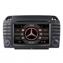 Навигация / Мултимедия с Android 10 за Mercedes S-class W220, CL W215 - DD-7082