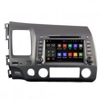 Навигация / Мултимедия с Android 9.0 за Honda Civic  - DD-5710