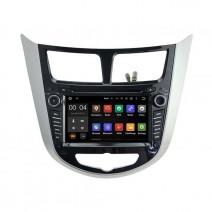 Навигация / Мултимедия с Android 9.0 Pie за Hyundai Verna  - DD-5711