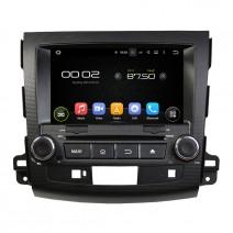 Навигация / Мултимедия с Android 8.0 или 8.1 за Mitsubishi Outlander и други - DD-8063K
