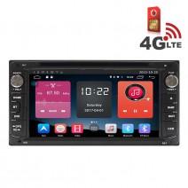 Навигация / Мултимедия с Android 6.0 или 10 и 4G/LTE за Toyota Corolla Verso (2004-2009) DD-K7112
