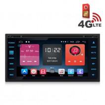 Навигация / Мултимедия с Android 6.0 или 10 и 4G/LTE за Toyota Corolla, Hilux, RAV4 и други DD-K7149