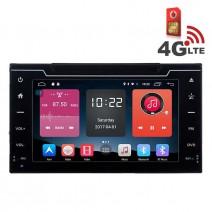Навигация / Мултимедия с Android 6.0 или 10 и 4G/LTE за Toyota Corolla 2017 DD-K7160