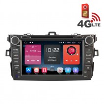 Навигация / Мултимедия с Android 6.0 и 4G/LTE за Toyota Corolla (2007-2012) DD-K7124