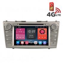 Навигация / Мултимедия с Android 6.0 или 10 и 4G/LTE за Toyota Camry DD-K7117