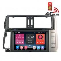 Навигация / Мултимедия с Android 6.0 или 10 и 4G/LTE за Toyota Land Cruiser Prado 150 DD-K7119