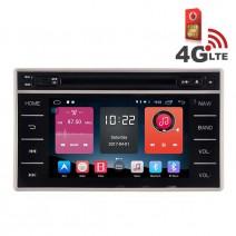 Навигация / Мултимедия с Android 6.0 или 10 и 4G/LTE за Toyota Hilux 2015 DD-K7141