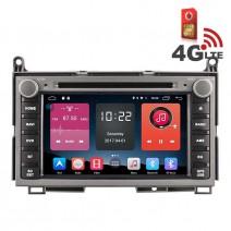 Навигация / Мултимедия с Android 6.0 или 10 и 4G/LTE за Toyota Venza DD-K7122
