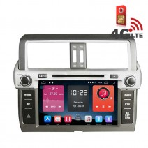 Навигация / Мултимедия с Android 6.0 и 4G/LTE за Toyota Land Cruiser Prado 150 DD-K7121