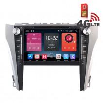 Навигация / Мултимедия с Android 6.0 или 10 и 4G/LTE за Toyota Camry 2015 DD-K7125