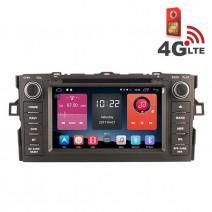 Навигация / Мултимедия с Android 6.0 или 10 и 4G/LTE за Toyota Auris DD-K7135
