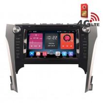 Навигация / Мултимедия с Android 6.0 или 10 и 4G/LTE за Toyota Camry (2012-2014) DD-K7127