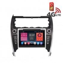 Навигация / Мултимедия с Android 6.0 или 10 и 4G/LTE за Toyota Camry 2012 DD-K7143