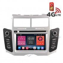 Навигация / Мултимедия с Android 6.0 или 10 и 4G/LTE за Toyota Yaris DD-K7111