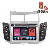 Навигация / Мултимедия с Android 6.0 и 4G/LTE за Toyota Yaris DD-K7111