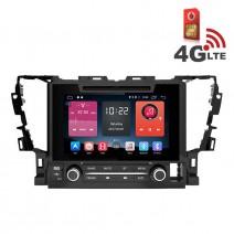 Навигация / Мултимедия с Android 6.0 или 10 и 4G/LTE за Toyota Alphard 2015 DD-K7146