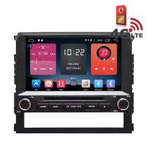 Навигация / Мултимедия с Android 6.0 или 10 и 4G/LTE за Toyota Landcruiser LC200 2016 DD-K7148