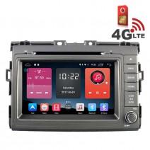 Навигация / Мултимедия с Android 6.0 и 4G/LTE за Toyota Estima DD-K7136