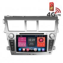 Навигация / Мултимедия с Android 6.0 или 10 и 4G/LTE за Toyota Vios DD-K7140