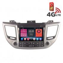 Навигация / Мултимедия с Android 6.0 или 10 и 4G/LTE за Hyundai IX35 2016 DD-K7273